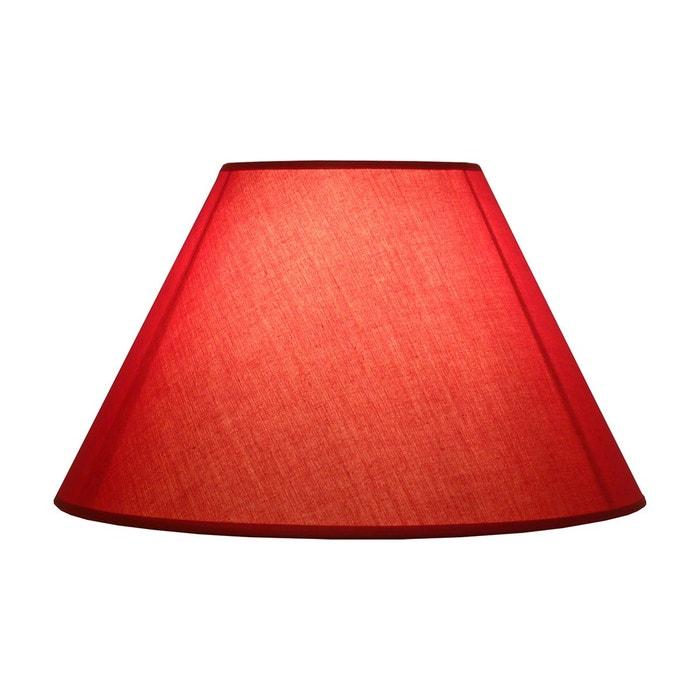 abat jour rouge 60 w a la carte kcm001449 kcm001449 rouge keria la redoute. Black Bedroom Furniture Sets. Home Design Ideas