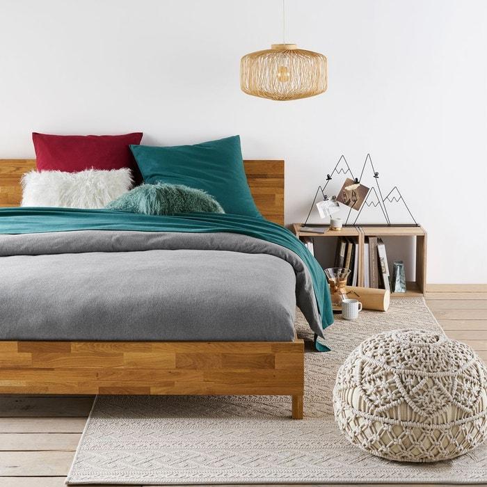 housse de couette unie flanelle scenario la redoute. Black Bedroom Furniture Sets. Home Design Ideas