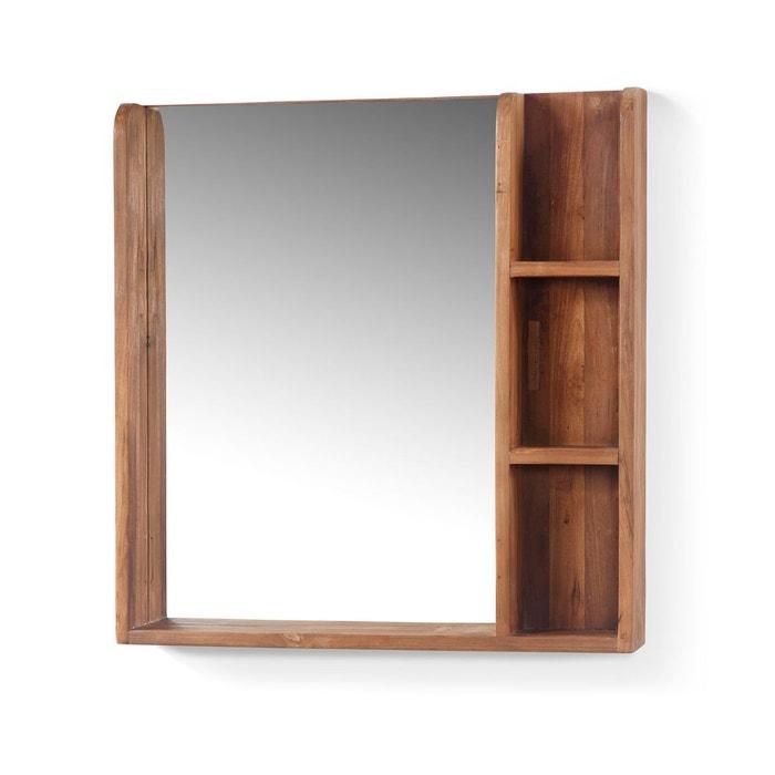 miroir simple jimbaran kha home design la redoute. Black Bedroom Furniture Sets. Home Design Ideas