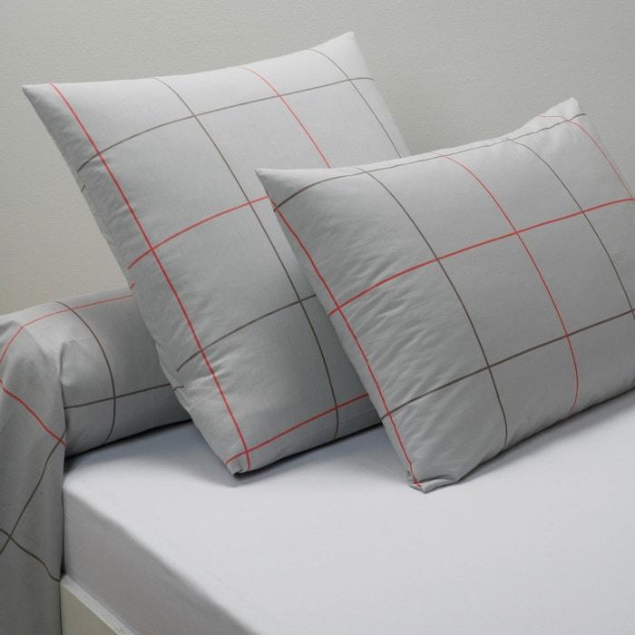 taies d 39 oreiller et traversin en percale karo la redoute. Black Bedroom Furniture Sets. Home Design Ideas