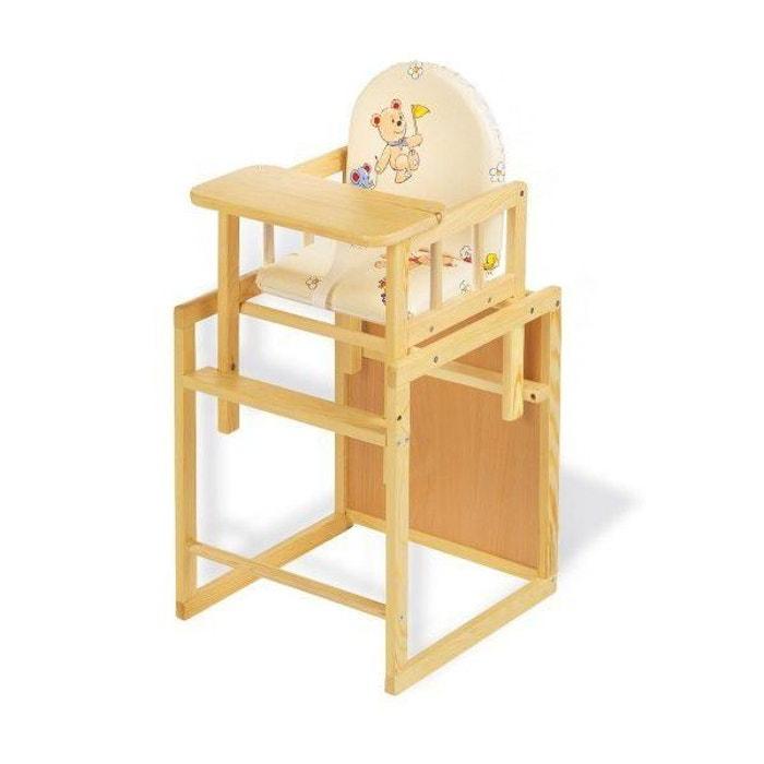 chaise haute combin e nele pinolino pinolino la redoute. Black Bedroom Furniture Sets. Home Design Ideas