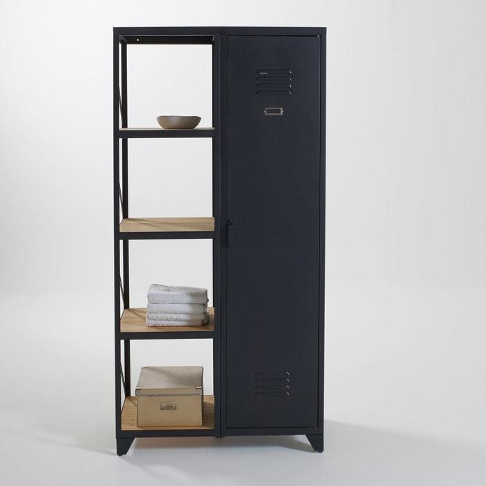 armoire mtallique la redoute free armoire portes dressing. Black Bedroom Furniture Sets. Home Design Ideas