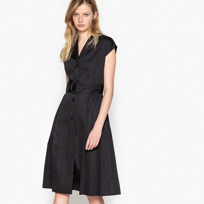 Abito camicia stile anni '50, con cintura  La Redoute Collections image 0