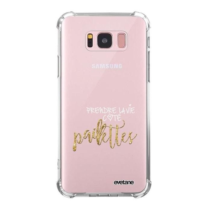 Coque Samsung Galaxy S8 silicone anti-choc souple avec angles renforcés transparente