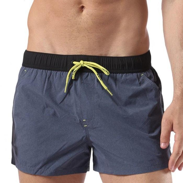maillot de bain homme short court caybay bleu diesel la redoute. Black Bedroom Furniture Sets. Home Design Ideas