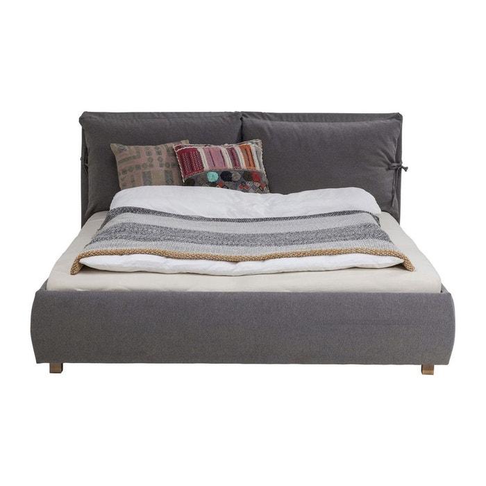 lit szenario 160x200cm gris kare design gris kare design la redoute. Black Bedroom Furniture Sets. Home Design Ideas