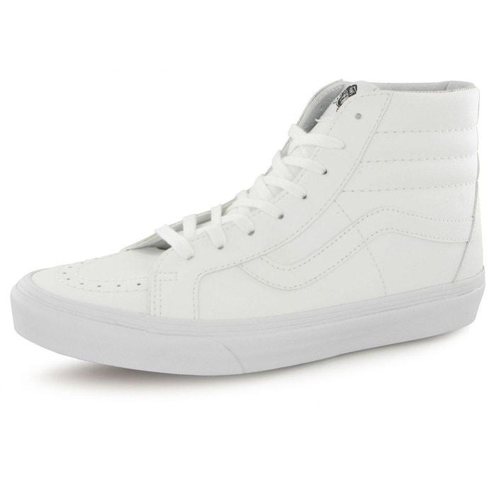 Baskets vans sk8-hi reissue blanc homme  blanc Vans  La Redoute