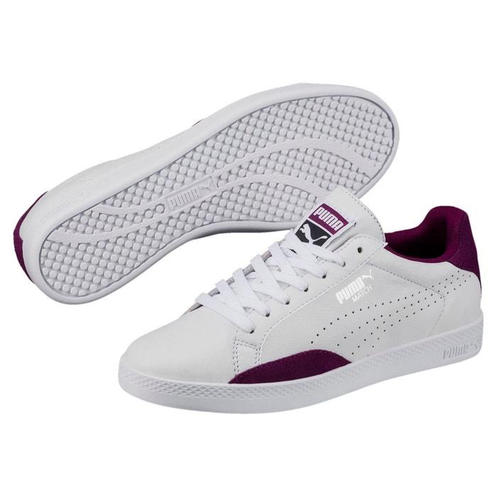 Classique Pas Cher Chaussures wns match lo classic white/purple w puma white En Ligne Pas Cher En Ligne Frais Achats Prix Le Moins Cher Rabais alx1DPF9a