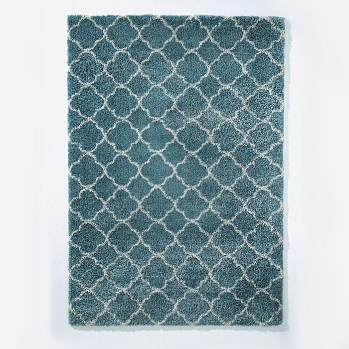 tapis afaw, 3 tailles bleu grisé la redoute interieurs | la redoute