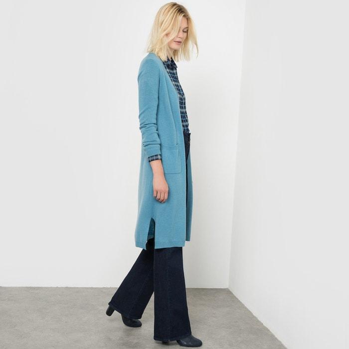 Długi, rozpinany sweter z kaszmiru  La Redoute Collections image 0
