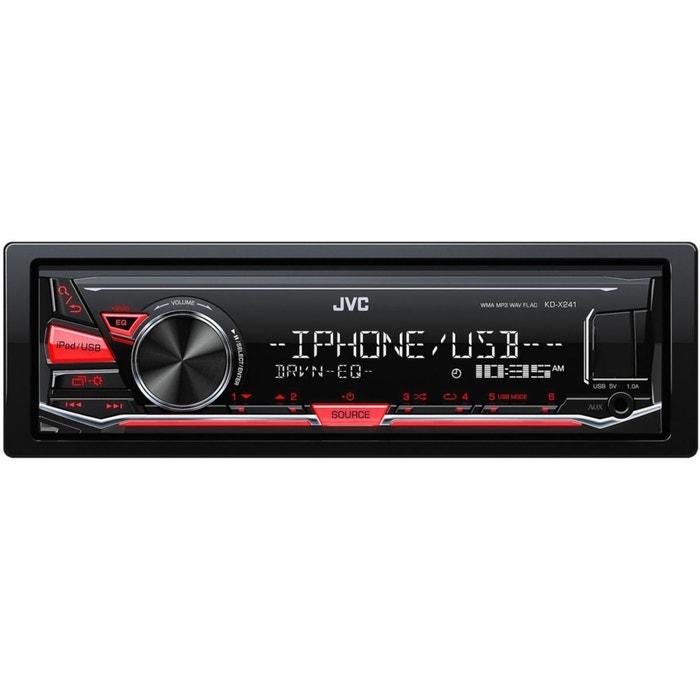 Autoradio CD JVC KD-X241