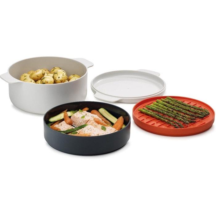 Set de cuisson m cuisine cuisson micro ondes 4 pi ces for Table de cuisine la redoute