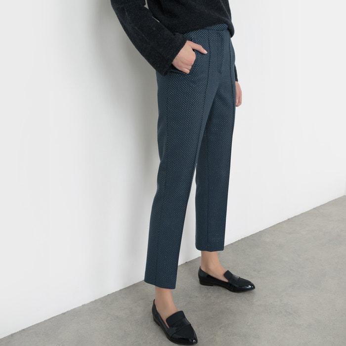 Image Jacquard Trousers with Metallic Fibre Detail R studio