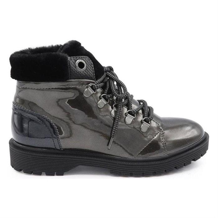 513deb50ba2f78 Redoute Armistice Gris Boots Textile Bottines La qaYSY