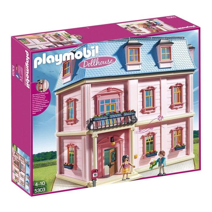 maison traditionnelle pla5303 couleur unique playmobil. Black Bedroom Furniture Sets. Home Design Ideas