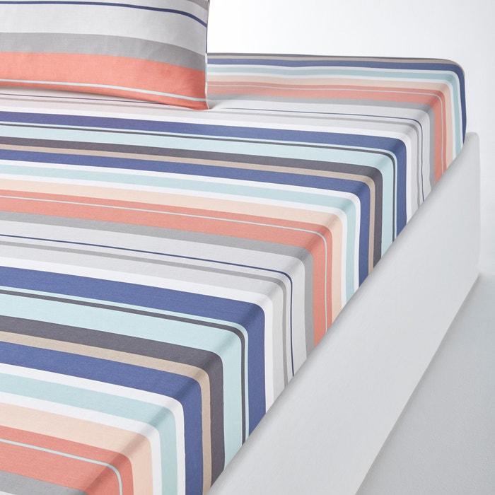 Image Drap housse coton MIDTOWN La Redoute Interieurs