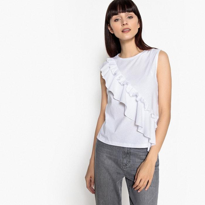 Cotton Ruffle Trim T-Shirt  MADEMOISELLE R image 0