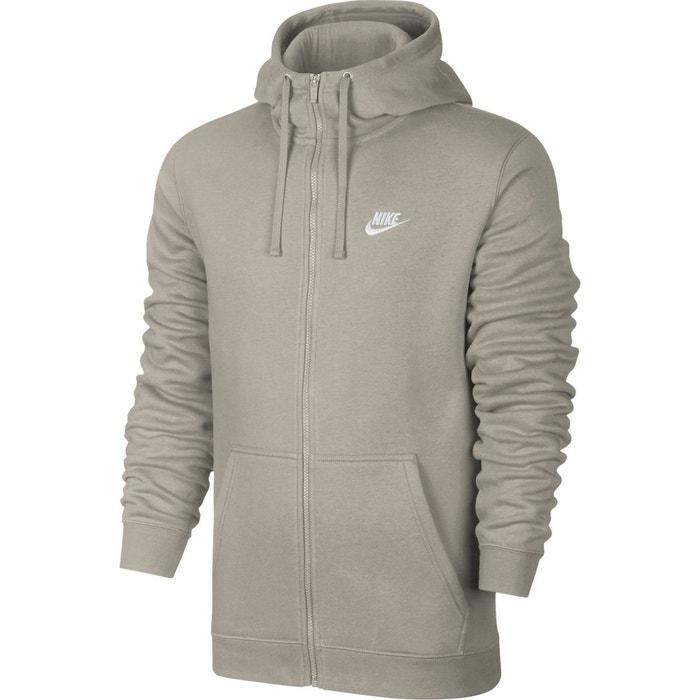 - sweat à capuche zippé - full-zip hoody - 804389 gris Nike   La Redoute 73d0db795b13