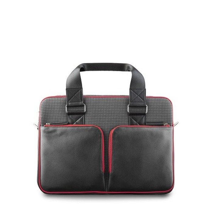 eddy cuir malette de bureau gris entre 2 retros la redoute. Black Bedroom Furniture Sets. Home Design Ideas