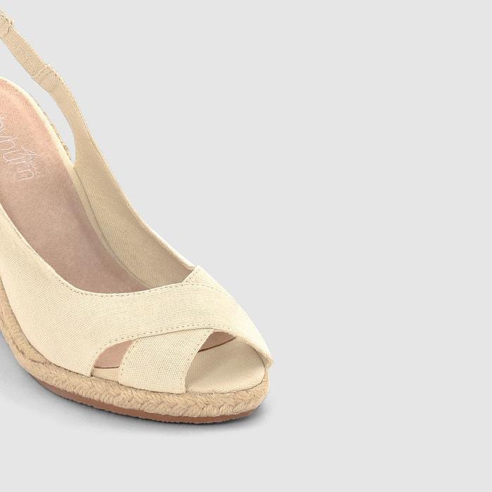 Sandales toile Anne Weyburn
