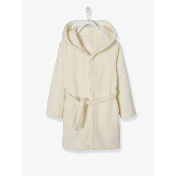 Robe De Chambre Fille Licorne Blanc Imprimé Vertbaudet La Redoute