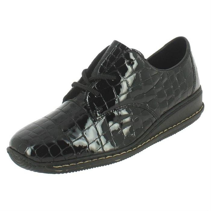 Chaussures Rieker Textile À Chaussures Textile Lacets 8n68HwqTF