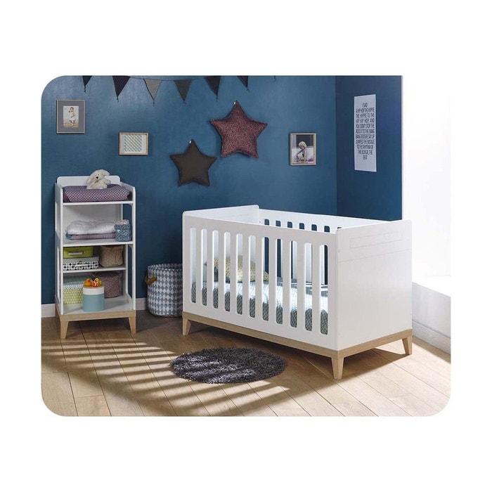 lit b b volutif riga avec table lang blanc ma chambre d 39 enfant la redoute. Black Bedroom Furniture Sets. Home Design Ideas