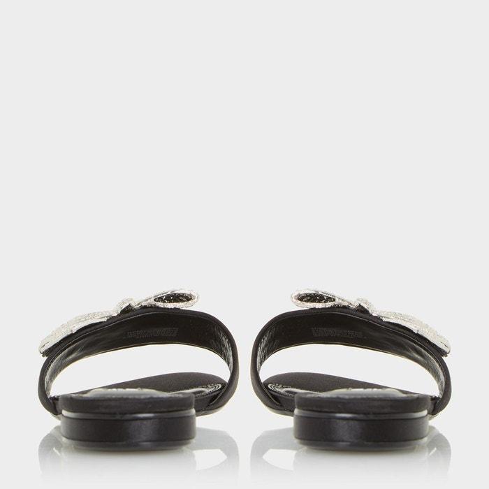 Mules avec n-ud orné de bijoux fantaisie - nixi Dune London