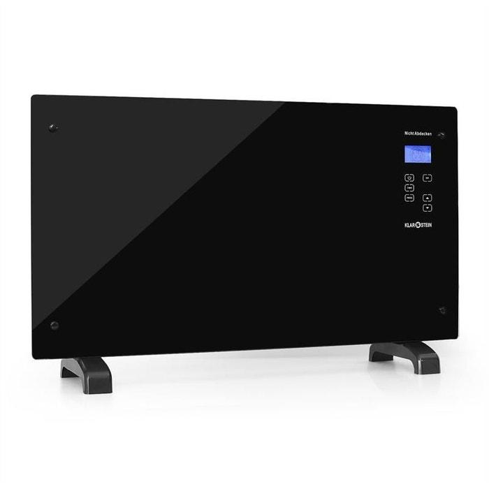 ht007gl radiateur electrique convection 2000w klarstein la redoute. Black Bedroom Furniture Sets. Home Design Ideas