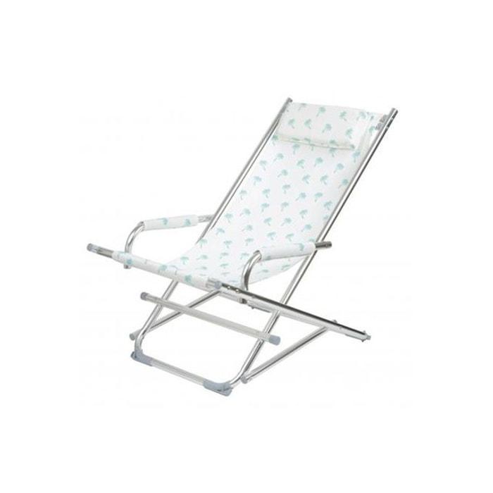 Chaise longue la chaise longue palmiers ajania blanc la chaise longue la re - La redoute chaise longue ...