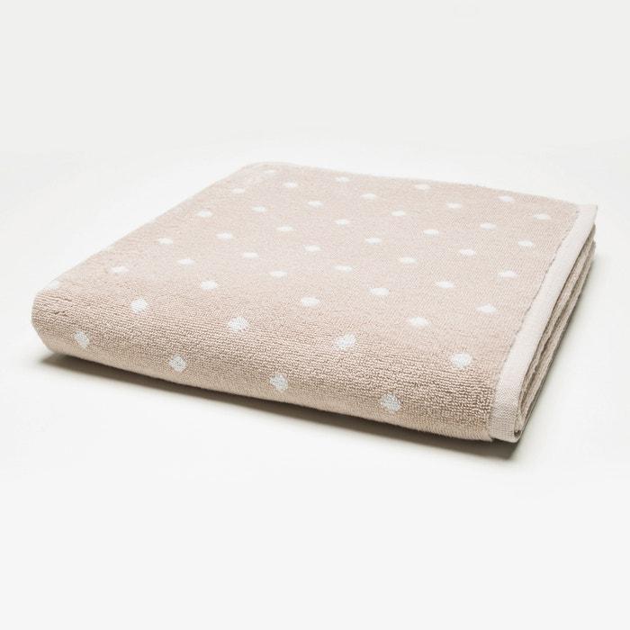 Clarisse Cotton Bath Sheet  La Redoute Interieurs image 0