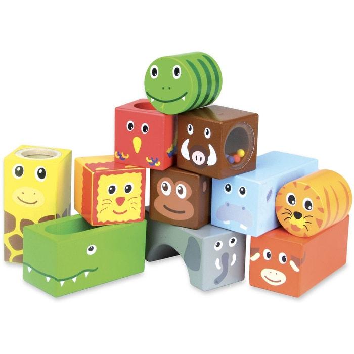 Cubes sonores animaux de la jungle  VILAC image 0