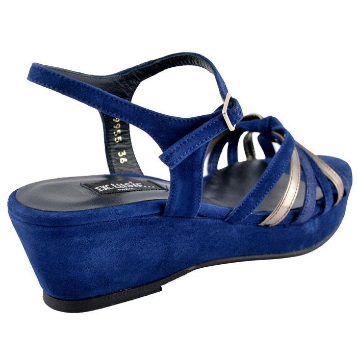 Chaussures compensées nelly Exclusif Paris