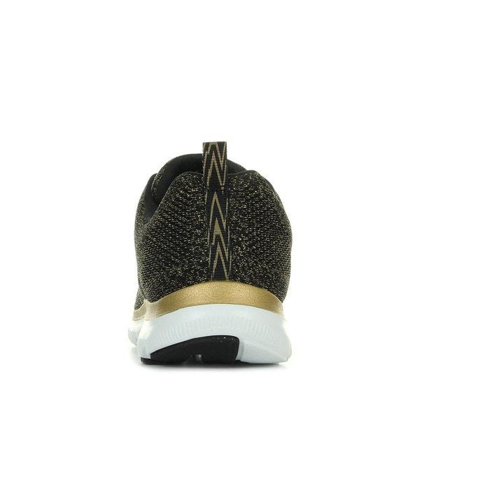 Flex appeal 2.0 noir, doré, blanc Skechers