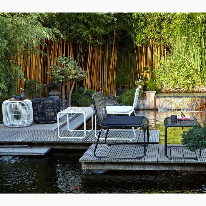 Repose pieds tabouret de jardin leygil la redoute - La redoute meuble jardin ...