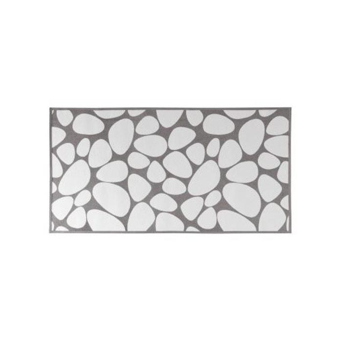 Tapis de bain gris en coton gris home bain la redoute - Redoute tapis de bain ...