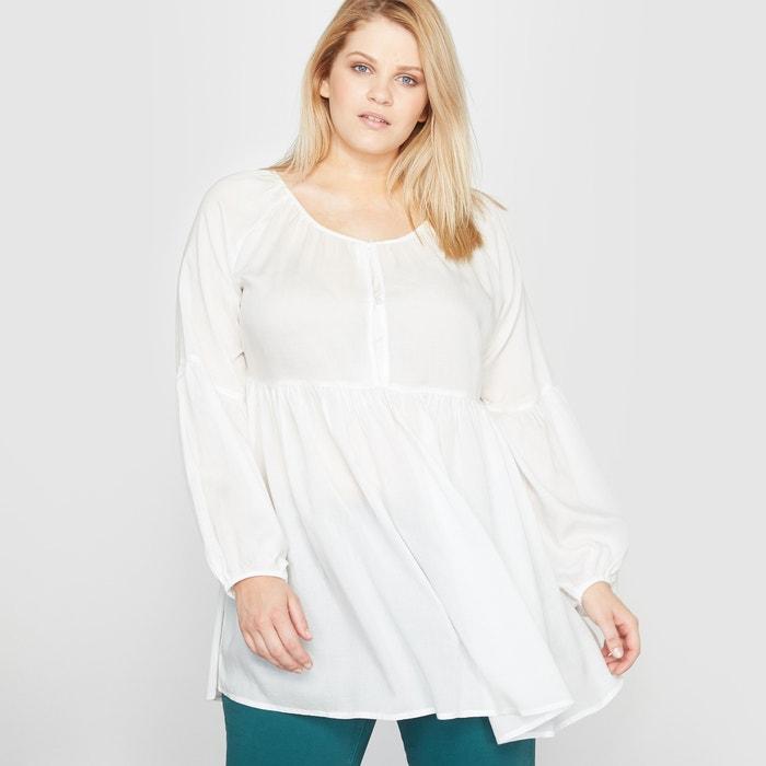 Imagen de Blusa túnica fruncida CASTALUNA