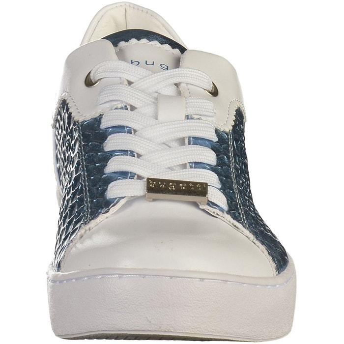 Sneaker blanc/bleu Bugatti