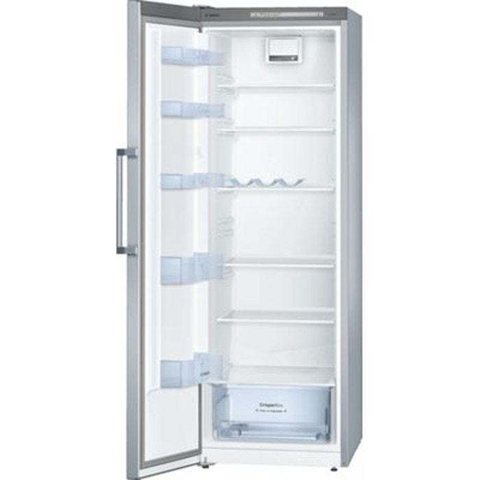 refrigerateur 1 porte avec freezer inox congelateur tiroir. Black Bedroom Furniture Sets. Home Design Ideas