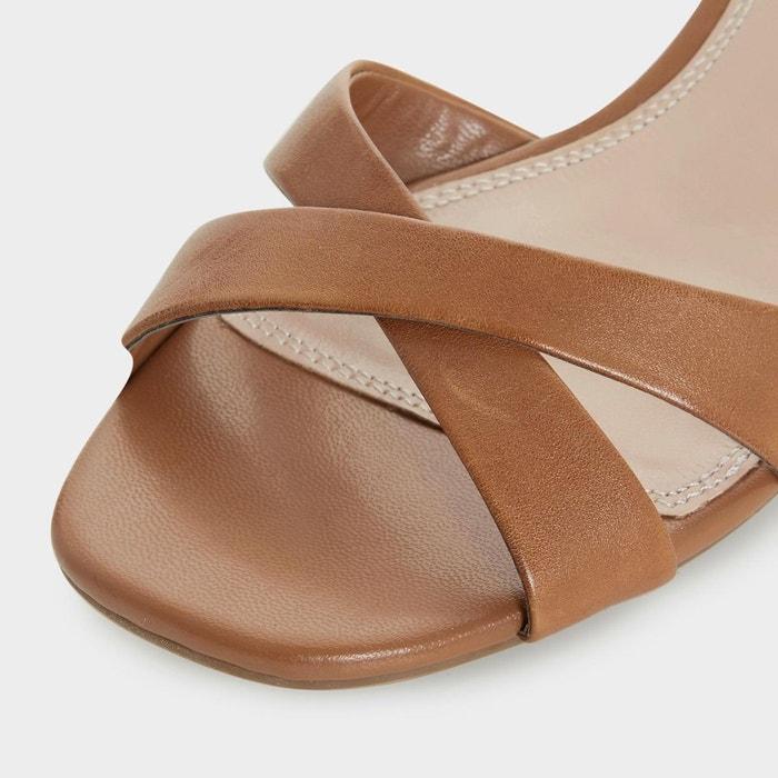 Sandales à talons carrés - jazzy Dune London