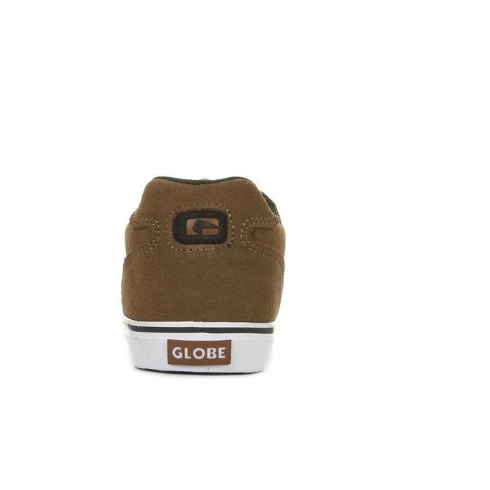 Chaussures de skate homme encore 2 tan brown marron, blanc Globe