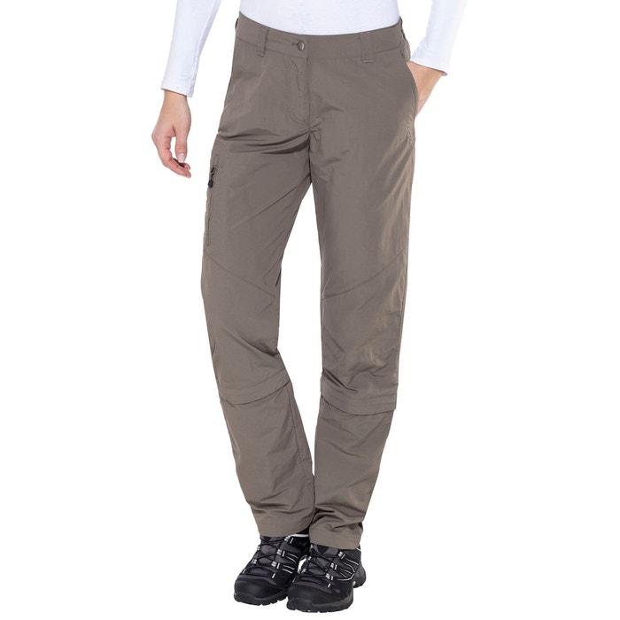 3dd0bd6e4510c Alps - pantalon zip femme - beige beige Axant   La Redoute