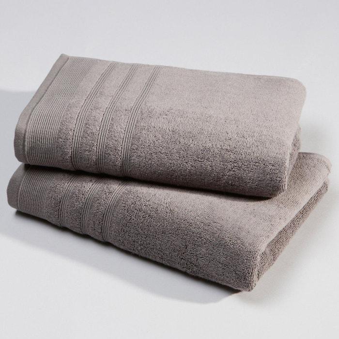 serviette ponge 600 g m lot de 2 la redoute interieurs la redoute. Black Bedroom Furniture Sets. Home Design Ideas