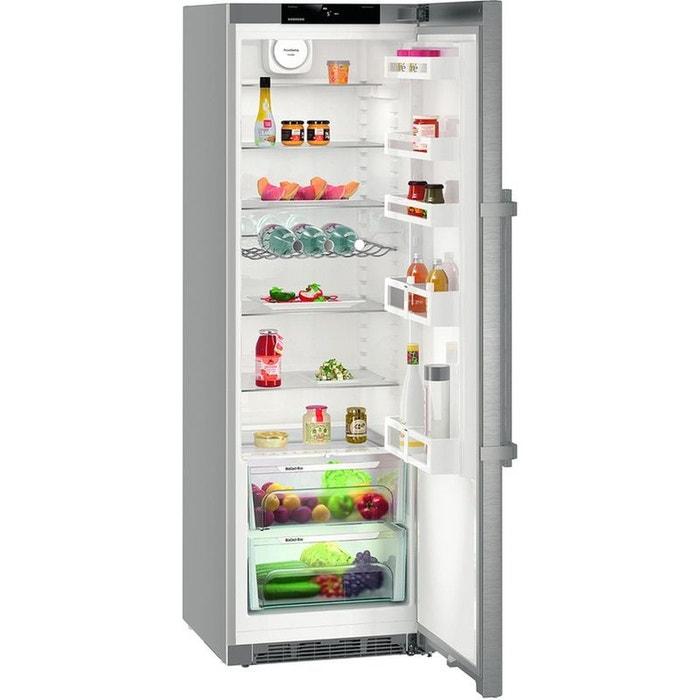 Réfrigérateur Porte Liebherr Kef Inox Liebherr La Redoute - Refrigerateur liebherr 1 porte