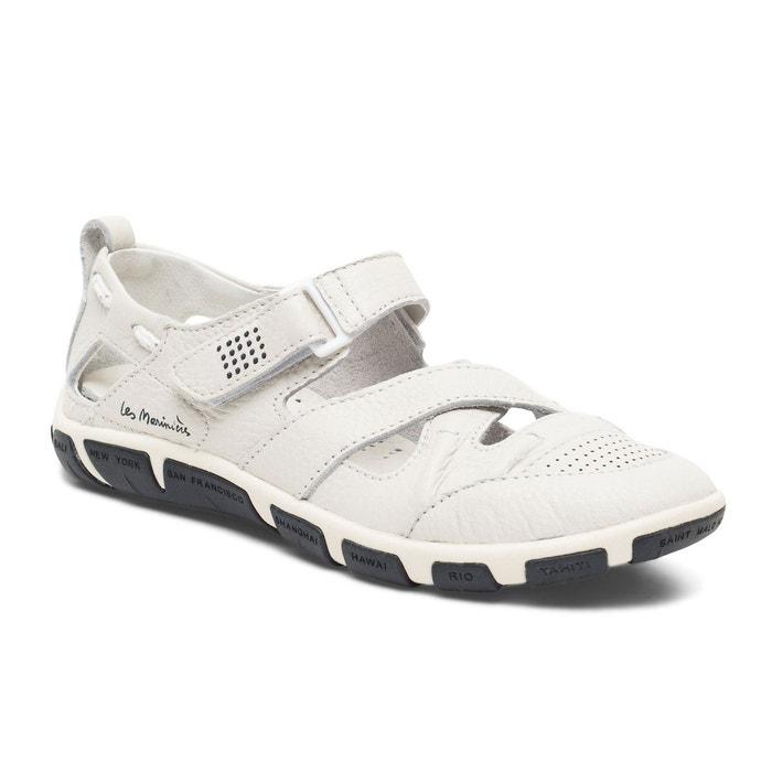 Chaussures ouvertes en cuir JULINE