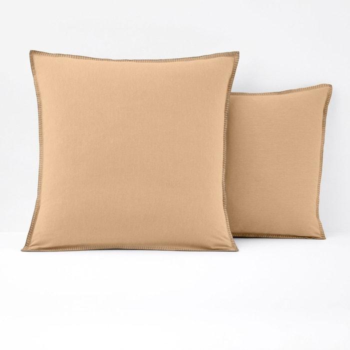 Taie d oreiller chambray kolza la redoute interieurs la for La ligne verte linge de maison