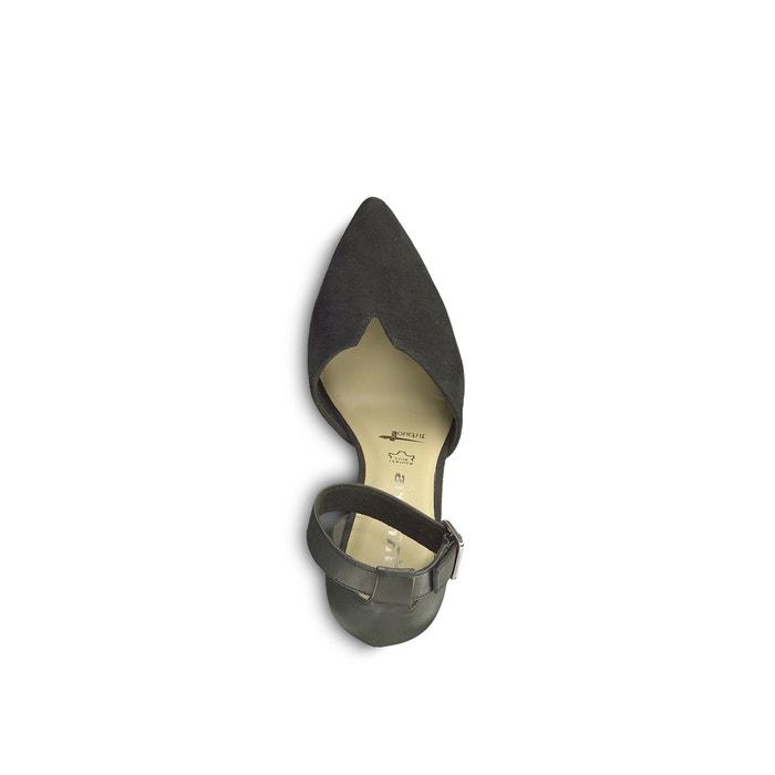 Lederpumps idony mit pfennigabsatz schwarz Tamaris | La Redoute