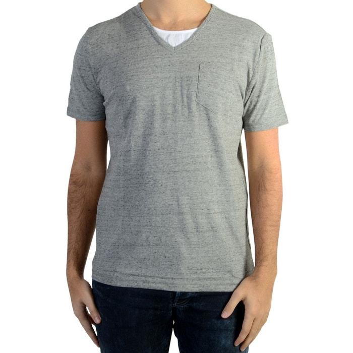 Tee Shirt Kaporal Ciao Light Grey Melanged