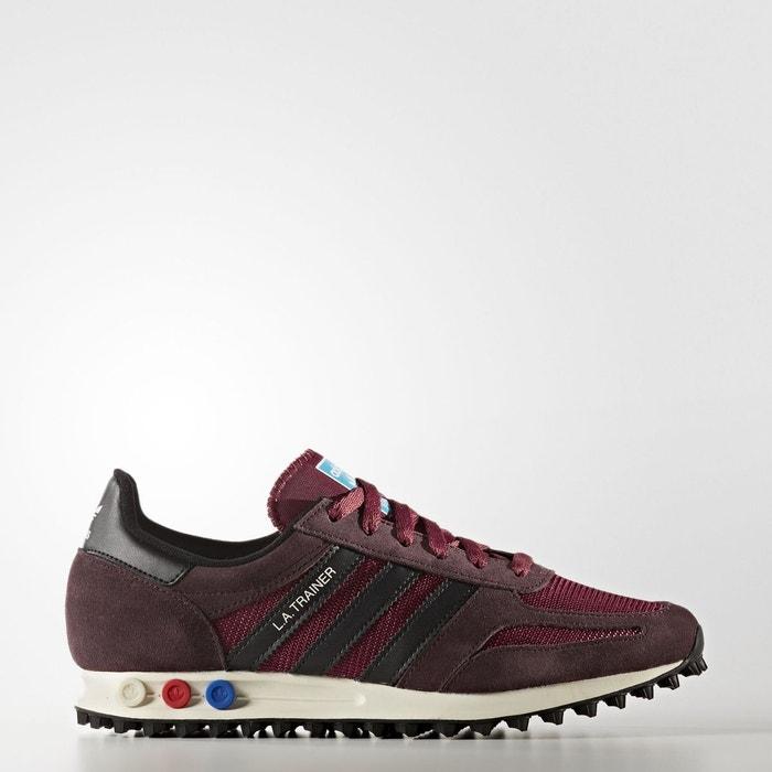 Chaussure la trainer og rouge Adidas Originals Sites De Dédouanement uuZFO3Os