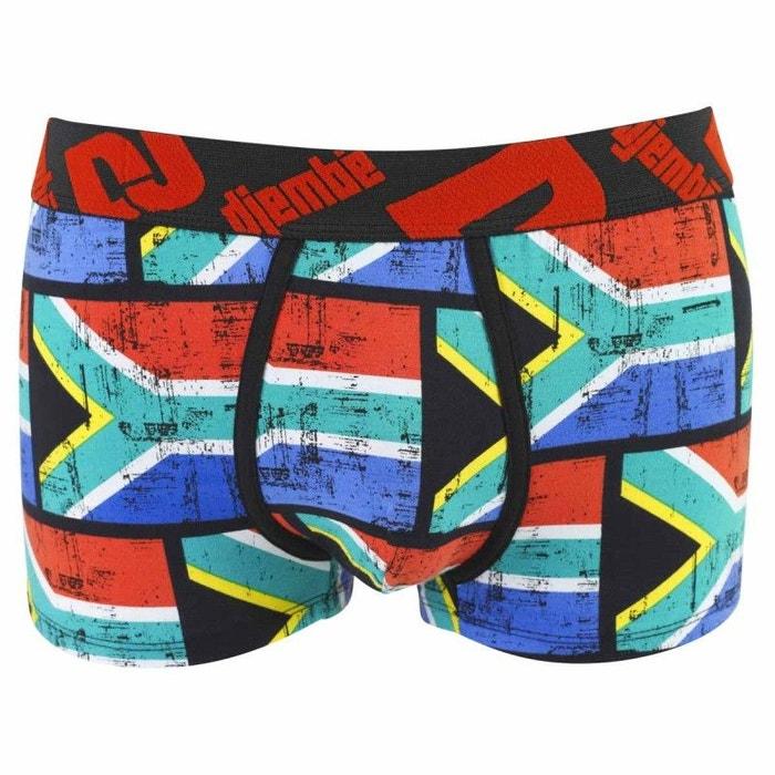 Boxer imprimé drapeau Afrique du Sud by Djembé POMM'POIRE